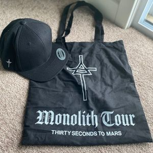 Thirty Seconds To Mars Monolith Tour Hat & Tote